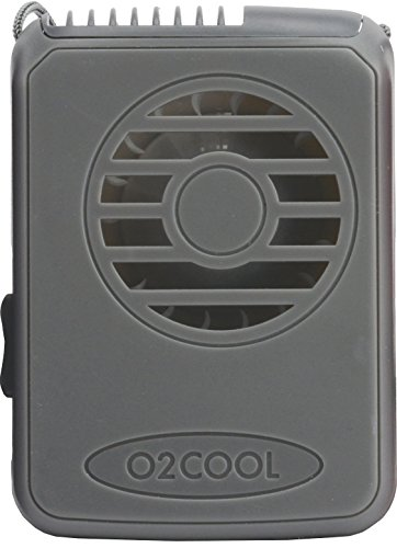 Price comparison product image O2COOL® Deluxe Necklace Fan, Grey