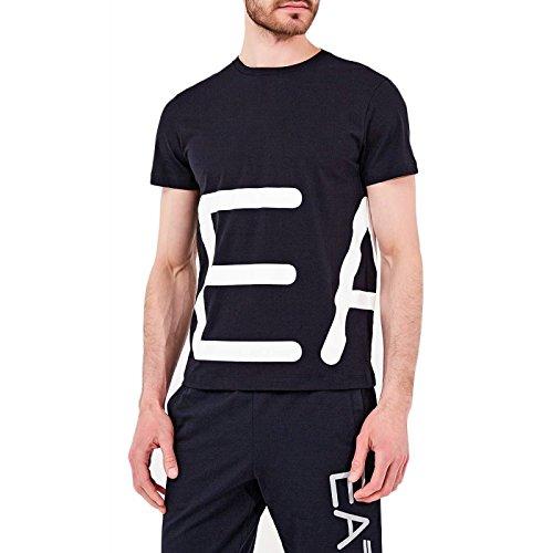 EA7 EMPORIO ARMAN Herren T-Shirt, Blau S