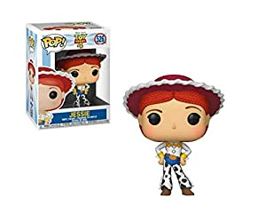Funko- Pop Vinilo: Disney: Toy Story 4: Jessie Figura Coleccionable, (37393)