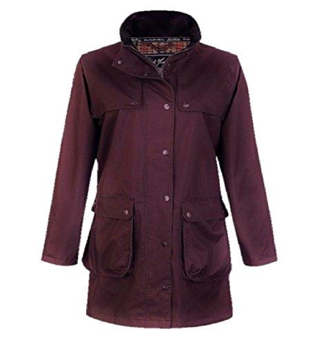 Coat Jack Ladies Length Blackberry 34 Murphy 14 Waterproof Avril OwqprO