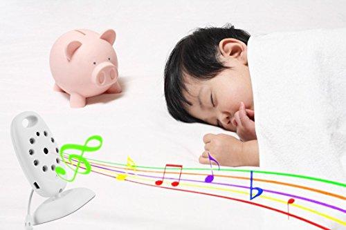 Baby Monitor Babyphone mit Wireless Digital Video mit Nachtsicht mit Zwei-Wege-Audio baby überwachungskamera (vb601) -