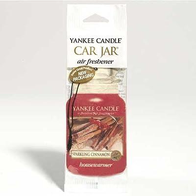 Yankee Candle Sparkling Cinnamon Car Freshener Jar Single by Yankee Candle Europe