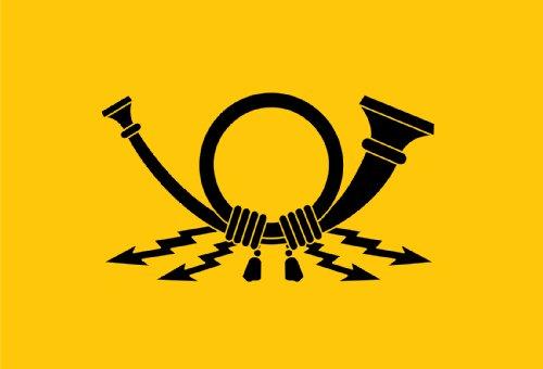 adesivi-bandiera-deutsche-post-est-adesivo-per-auto