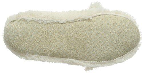 Eaze - Ballerine Lapin, Chaussons Femme Blanc (blanc (blanc))