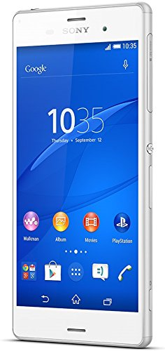 "Sony Xperia Z3 16GB 4G - Vodafone Libre Smartphone (13,21 cm (5.2""), 1080 x 1920 Pixeles, IPS, 2,5 GHz, Qualcomm Snapdragon, 3072 MB), Color blanco"