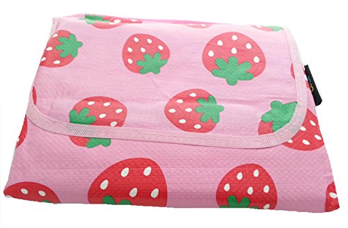 baby-kids-large-summer-beach-playmat-picnic-camping-feeding-activity-mat-floor-protector-pink-strawb