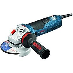 Bosch Professional Meuleuse angulaire Filaire GWS 19-125 CIE (1 900W, Ø meule : 125 mm, 2,4kg, Pack d'accessoires)