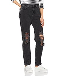 New Look Square Rip Mom, Jeans Droits Femme