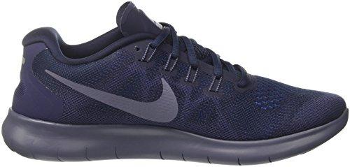 Nike Herren Free RN 2017 Laufschuhe Grau (Obsidian/light Carbon/neutral 408)