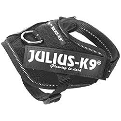 Julius-K9 16IDC-P-B1 IDC Power Harness, Tamaño Baby 1, Negro