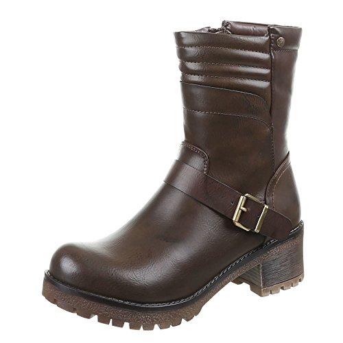 Chaussures, bottines pa - 879 Marron - Marron