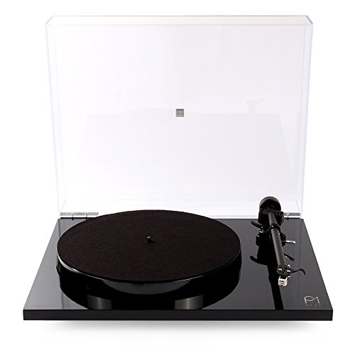 Rega Planar 1 Plus Turntable with Built-in Phono Stage Gloss Black