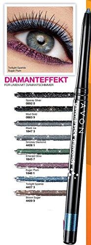 AVON Glimmerstick Diamonds Augenkonturenstift Kajalstift Twilight Sparkle