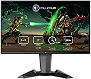 "Millenium MD27PRO - Monitor Gaming para e-Sport de 27"" QHD 144hz con 1ms (2560 x 1440p, TN, 16:9, 3 x HDM"