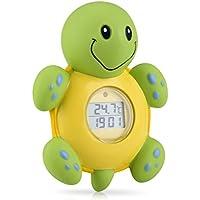 Horloge et thermomètre de bain Nuby - Tortue
