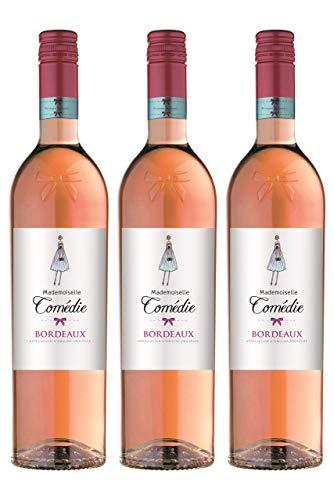 Mademoiselle Comédie - Bordeaux AOP Rosé - 3x75cl