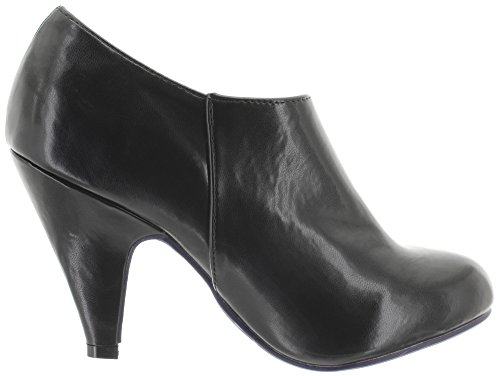 Dancing Days by Banned Pumps LOLA BND088 Black
