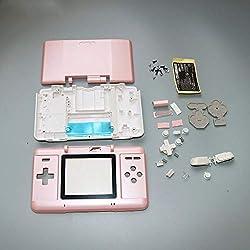 Boîtier de Remplacement Complet pour Console Nintendo DS NDS Rose