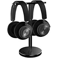 JOKItech Alluminio Doppia Cuffia Stand - Gancio del Metallo Adatto a Tutti i  DJ Dimensione di 1f7c56b49b56