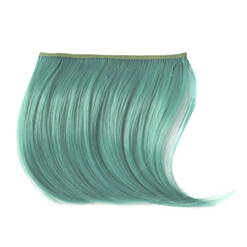Makefortune 2019 Damen Perücke,Frauen Perücken Beauty Pretty Girls Clip On Clip In Front Hair Bang Fringe Hair Extension Piece Thin Frauen Make up Farbe knallt Mädchen Pflegesets (Farben Clip In Extensions)
