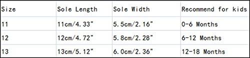 AivtalkBébé Chaussures Souples en Coton avec Nœud Papillon Dentelle - Chaussure Bébé Marche Prewalker pour 9-11 Mois (13cm / Blanc) Rose