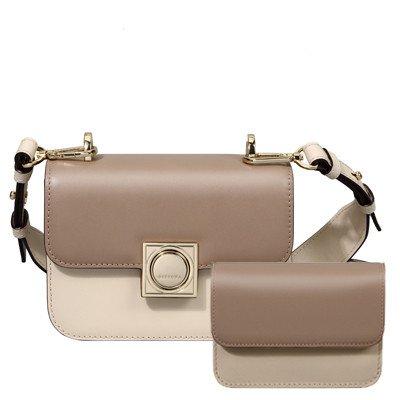 SZJZ Borsa tracolla in pelle Messenger Bag borsa in pelle sono piccoli ripieni di steamed bun madre bag,grigio scuro Dark grey