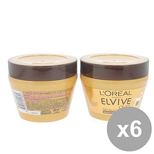 Set 6 ELVIVE Maschera 300 Olio Straordinario Prodotti per capelli