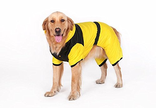 g Herbst und Winter Kleidung Hund Kleidung Golden Retriever Samojede Huskies Big Dog Baumwolle Pet Kleidung (Samojede Kostüm)