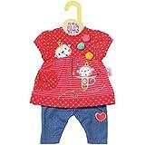 Zapf Creation 870365 Dolly Moda Hängerchen mit Hose, Puppenkleidung 39-46 cm