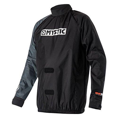 Mystic 2017 Kite Windstopper Jacket Black 140160 Size - - Extra Extra Large