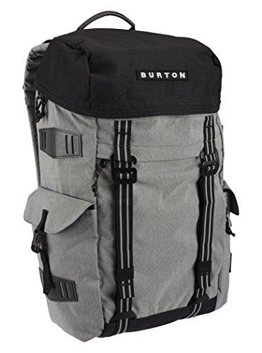 Burton 16339101079, zaino unisex adulto, grigio, taglia unica