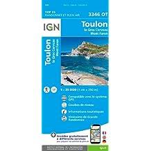 3346OT TOULON LE GROS CERVEAU MONT FARON