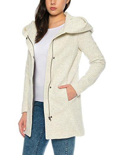 ONLY Damen Blazer Mantel Jacke onlSEDONA LINK COAT OTW Trenchcoat Parka Übergang