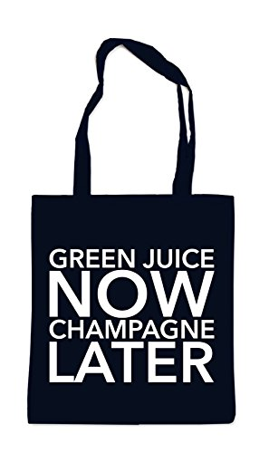 Green Juice Now - Champagne Later Sac Noir Certified Freak