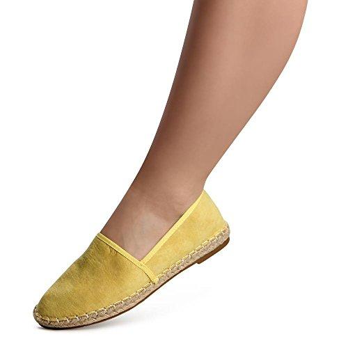 topschuhe24, Ballerine donna Giallo (giallo)