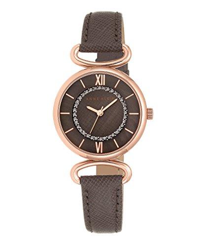 anne-klein-femme-montre-a-quartz-avec-affichage-analogique-et-bracelet-en-cuir-marron-cadran-marron-