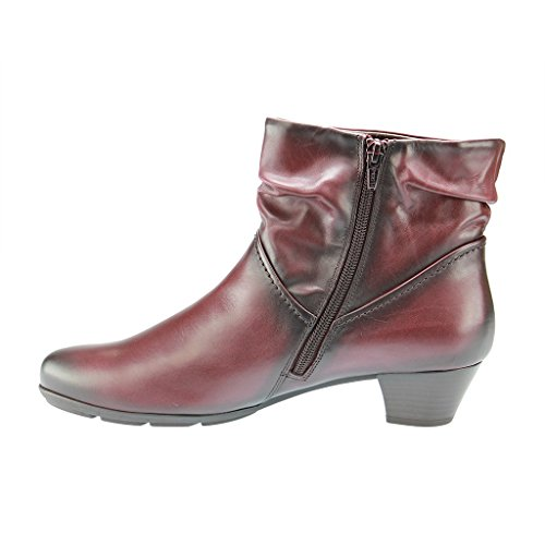 Gabor Shoes 35.637 Damen Kurzschaft Stiefel Rot