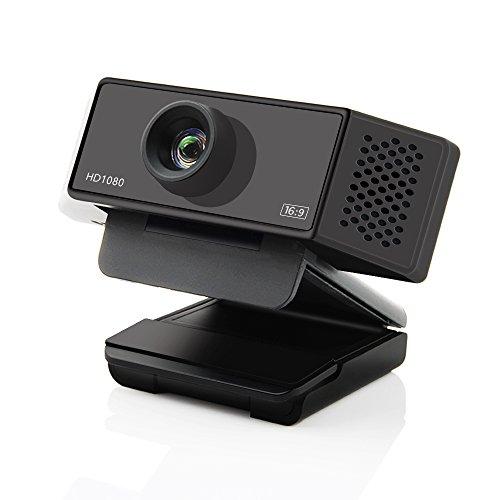 iOCHOW W900 Webcam 1080p, Full HD 1080p Der Auflösung, Als Webcam Full Hd (Skype Kamera), Ist Es Eine Ideale Web Cam Für Die Herstellung Von Video-Anrufe Oder Recording-Videos