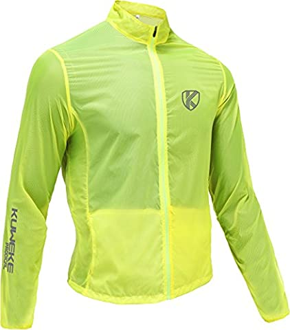 Bicycle Air Jacket Windbreaker for Cycling Cycling Outdoor Jacket Water Repellent Soft Shell Jacket SIZE S – 3 x Large,