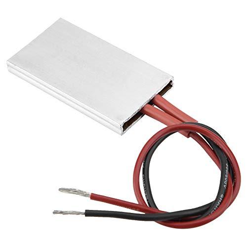 Placa Calefactora PTC de Aislamiento, Segura y de Alta Confiabilidad, Carcasa de Aluminio de 50 × 28,5...