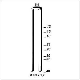 alsafix–5200–ES-26Stainless Steel Staples 26x 5.9x 0.9x 1.2mm 6es269D.–alsafix