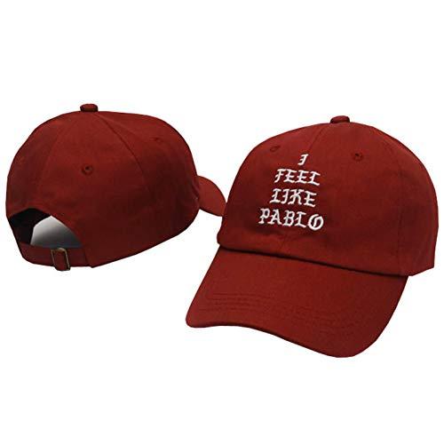 Imagen de skamao  de beisbol moda golf swag cap pray palace dad hat sol algodón mujeres y hombres  de béisbol rojo vino
