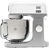 Kenwood kMix KMX750WH - Robot de cocina (potencia 1000 W, capacidad de 5 litros, 6 velocidades y 3 herramientas) color blanco
