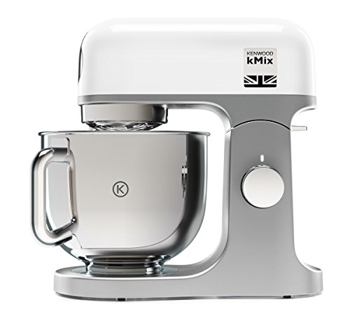 Kenwood KMX750WH kMix, impastatore planetario e robot da cucina da 1000 W e 4,6 l