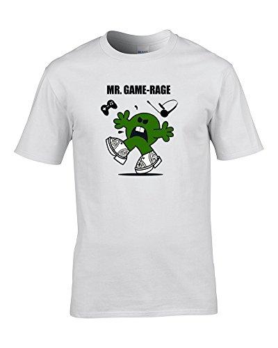 MR Game Rage - Gamers, Gamepad mr Men Parody Mens T Shirt