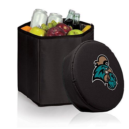 Picnic Time NCAA Coastal Carolina Chanticleers Bongo isoliert klappbar Kühler, schwarz Coll Box