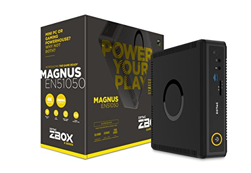 ZOTAC ZBOX MAGNUS EN51050 mini-PC Barebone (Intel Core i5-7500T quad-core, GeForce GTX 1050)