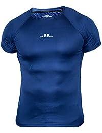 819ba7d522c0bb Feflogx Sportswear Herren Funktionsshirt Pure   Hochwertiges, elegantes  Jogging Sport-Shirt   Optimal für