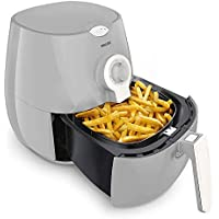 Philips Airfryer with Rapid Air Technology for Healthy Cooking, Baking and Grilling - White/Light Grey - HD9218/11