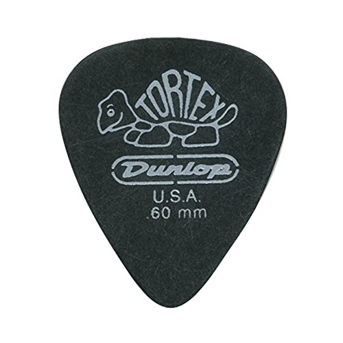 DUNLOP TORTEX PITCH BLACK PUAS PARA GUITARRA